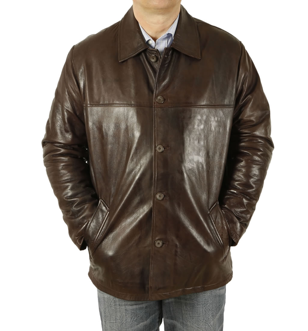 Leather jackets blazer