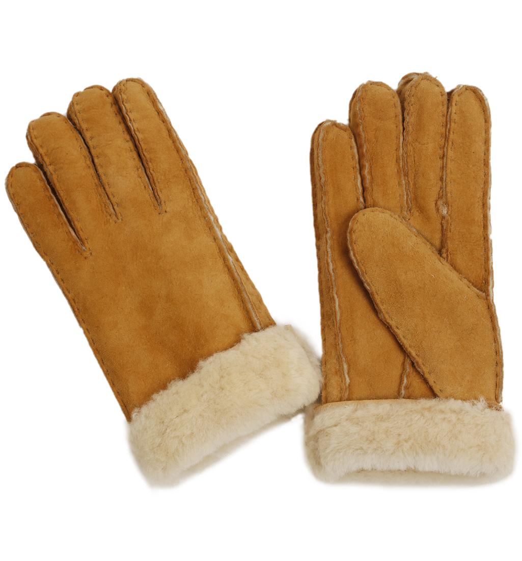 Mens sheepskin gloves uk -  Sl60302 Ladies Tan Sheepskin Gloves