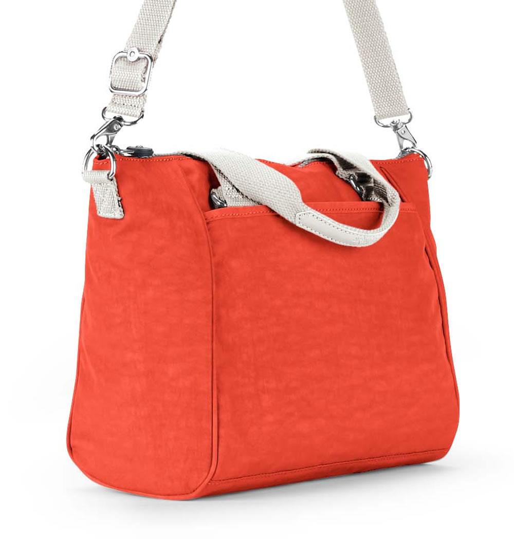 134f225b38 ... SL6510 - Kipling Amiel Medium Handbag In Coral Rose ...