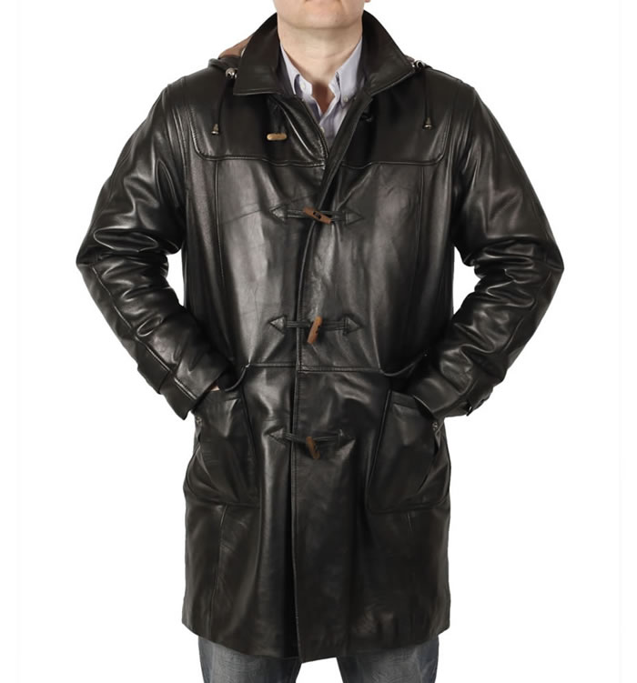Mens Longer Leather Jackets and 3/4 Coats | Simons Leather
