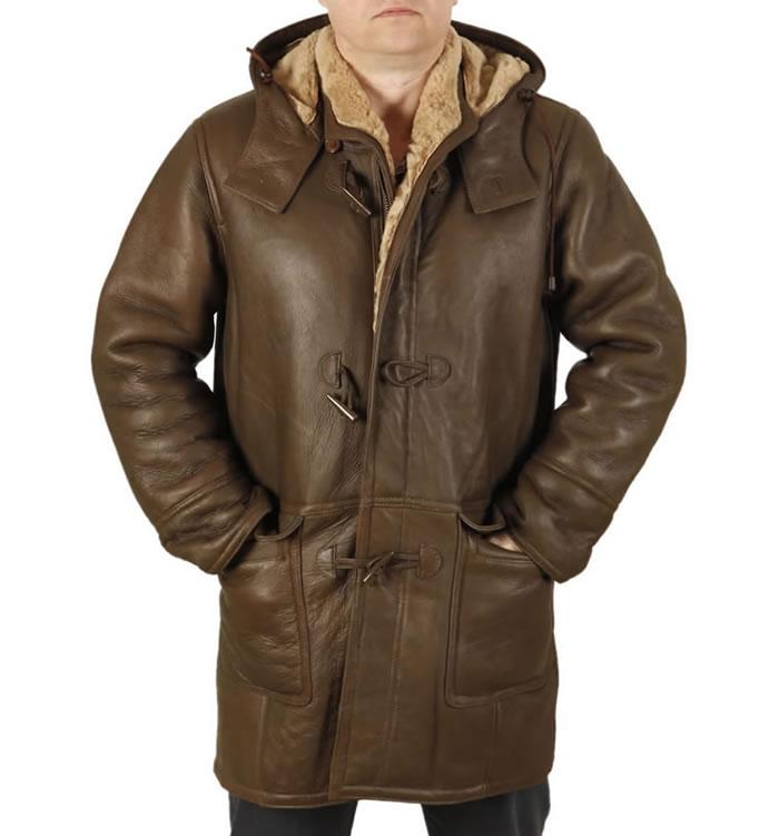 Mens Sheepskin Leather Jackets | Simons Leather