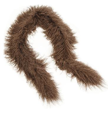 Brown Mongloian Lamb Scarf - SL61231
