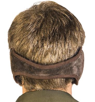 SL611191 - Sheepskin Ear Muffs In Brown