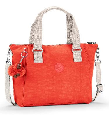 Kipling Amiel Medium Handbag In Coral Rose - SL6510