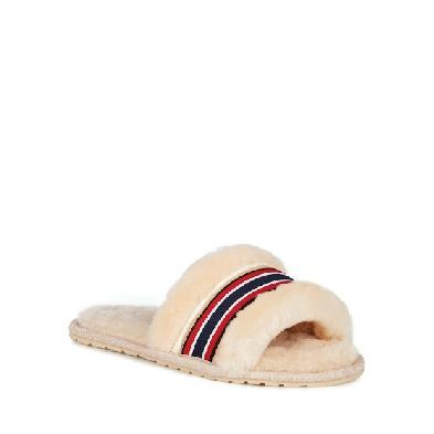 SL6157 - Emu Wrenlette Sheepskin Slide Slipper Natural